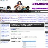 刀剣乱舞News速報